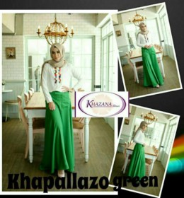 Khapallazo set GREEN by Khazana Btari