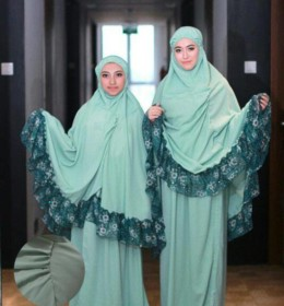 Mukena Aqilla Green By D'Hanna