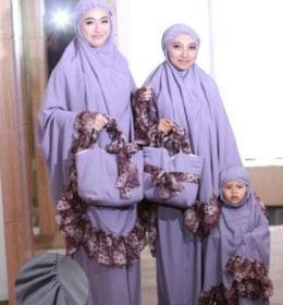 Mukena Aqilla Purple By D'Hanna
