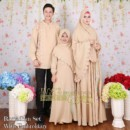 Ramadhan Set With Embroidary COKLAT by Iva's