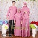 Ramadhan Set With Embroidary DUSTY PINK by Iva's