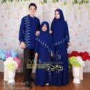 Ramadhan Set With Embroidary NAVY by Iva's