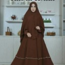 Bainaa Dress Coklat premium by Aidha