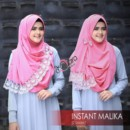 Instant Malika (2 loops) lace Pink