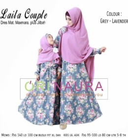 LAILA COUPLE Grey Lavender by ORINAURA