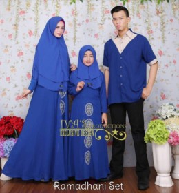 Ramadhani Set With Embroidary by Iva's Production B