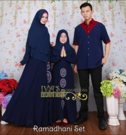 Ramadhani Set With Embroidary by Iva's Production N