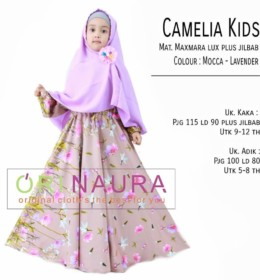 CAMELIA KIDS Mocca Lavender by ORINAURA