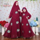 GISTA Couple Maroon by AKHWAT