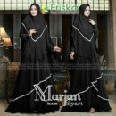 Marjan syar'i Black by Friska