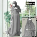Abaya SG020 Grey By Sunnah wear