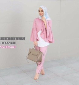 BELLA SET Dusty Pink by SHABILLA