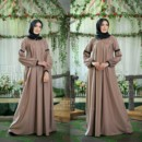 Corrine Dress Mocca By Cynarrra