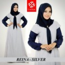 REINA Dress Silver by LAYRA