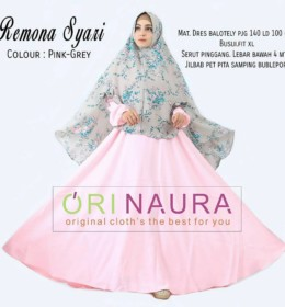 REMONA Pink Grey by ORINAURA