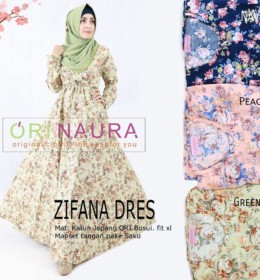 ZIFANA DRESS by ORINAURA G