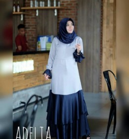 Adelia dress girly Navy by SE