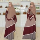 Hamida dress Maroon by Aidha