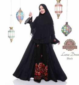 LUNA DRESS Black