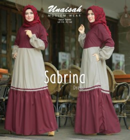 SABRINA dress by UNAISAH M