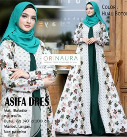 ASIFA DRESS by ORINAURA H