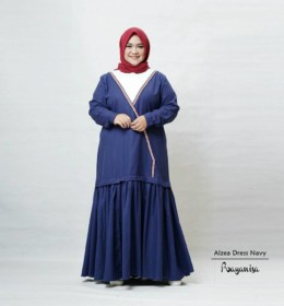 Alzea Dress Navy