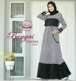 DAVINA DRESS by BUNGAS b