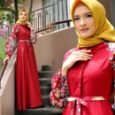 kaffa dress merah by cynarra