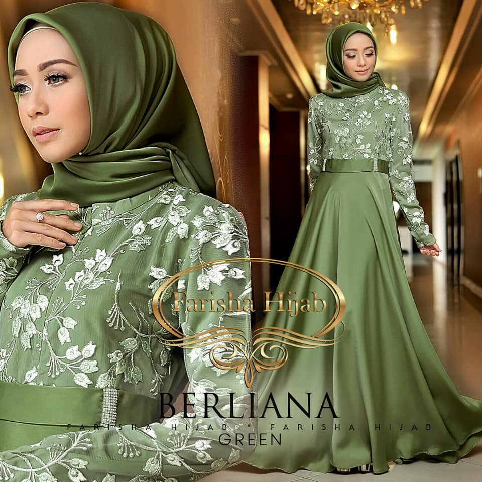 BERLIANA DRESS by FARISHAHIJAB g