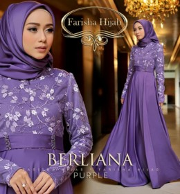 BERLIANA DRESS by FARISHAHIJAB pu