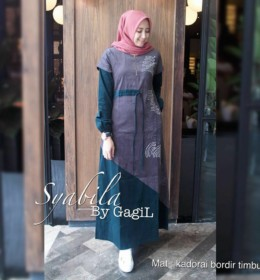 Syabilla dress by Gagil b