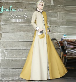 YAMELY dress by YOUFIE ORI C