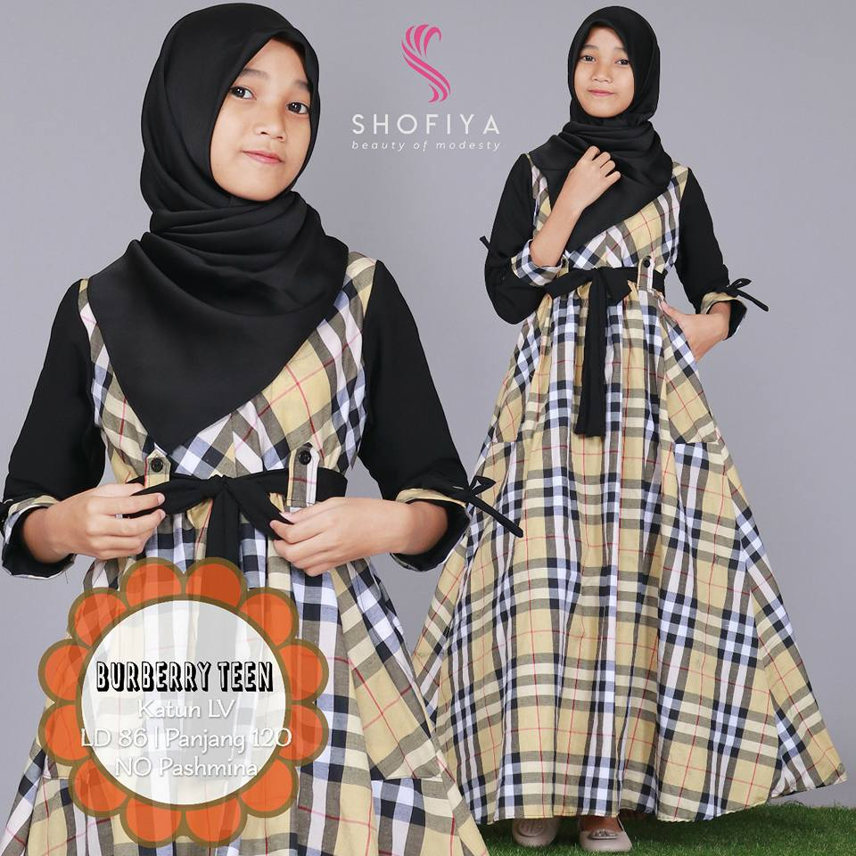 BURBERRY Teen by SHOFIYA b