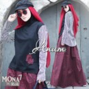 Mona set vol 7 by Anum (atasan+rok) bl