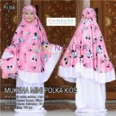 MUKENA MINI POLKA KIDS by ORINAURA p