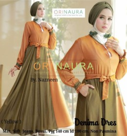 Denima Dress by Orinaura Y