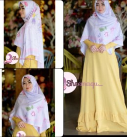 Nura dress only & Sabrina scraft y