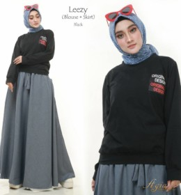 Leezy Set by Agia Hijab bl