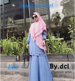 Shafiya Syari set by DCL Premium b