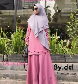 Shafiya Syari set by DCL Premium p