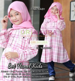 Set Flanel Kids by Orinaura b