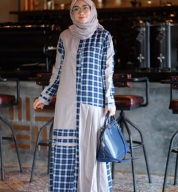 Hafizah dress by Restu Mandeh b