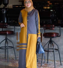 Hafizah dress by Restu Mandeh c