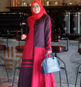 Hafizah dress by Restu Mandeh e