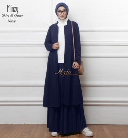 Minzy set by Agia hijab n