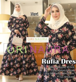 Rufia Dress by Orinaura n