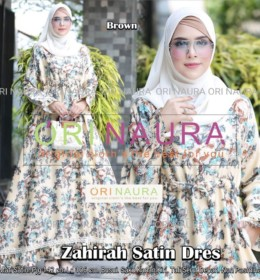 Zahirah Satin Dress by Orinaura b