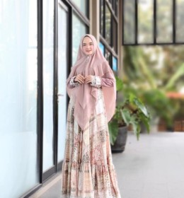 Nabilla dress syar,i by bohemian CO