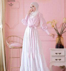 Olla outer Basic in white BY MY DE LABELL